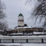Выборг зимой: Выборгский замок