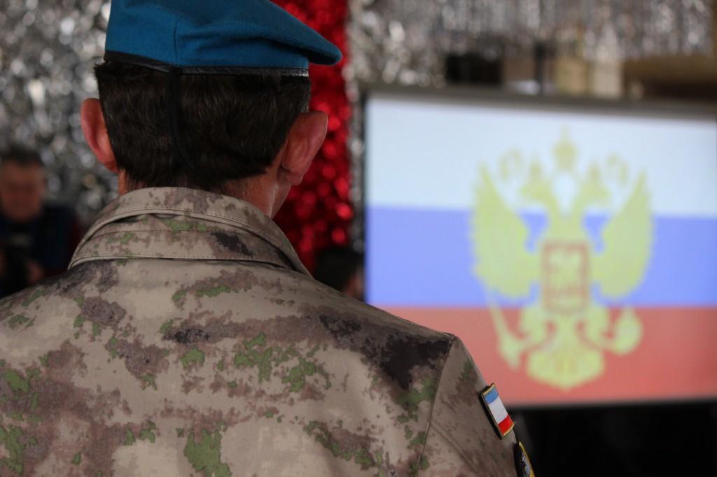 Представители Народного ополчения Крыма