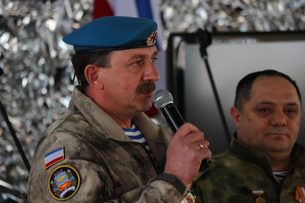 Командир полка Народного ополчения Крыма, Сергей Турчаненко