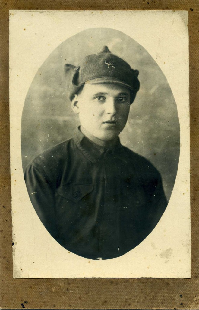 Михаил Герасименко на курсах молодого бойца в Баку