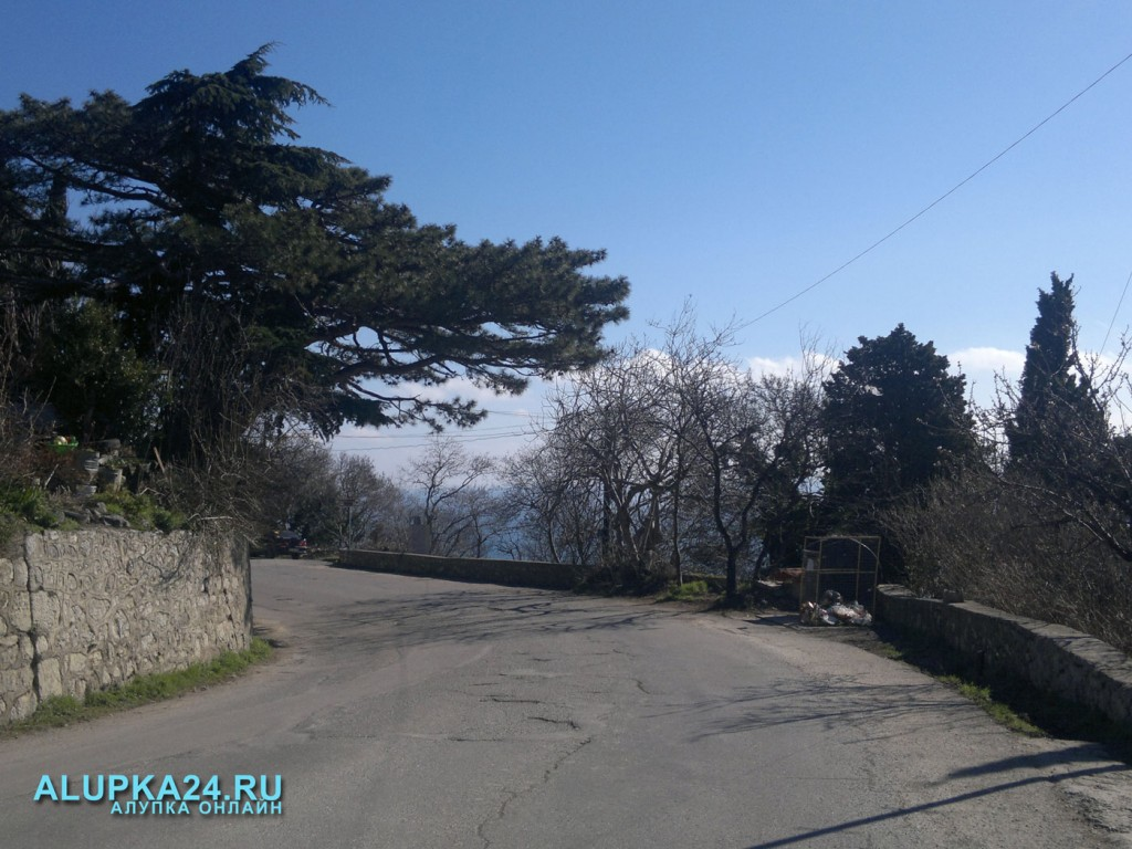 Погода в Алупке 25 апреля