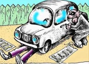 В Алупке нашли угнанный в Симеизе автомобиль