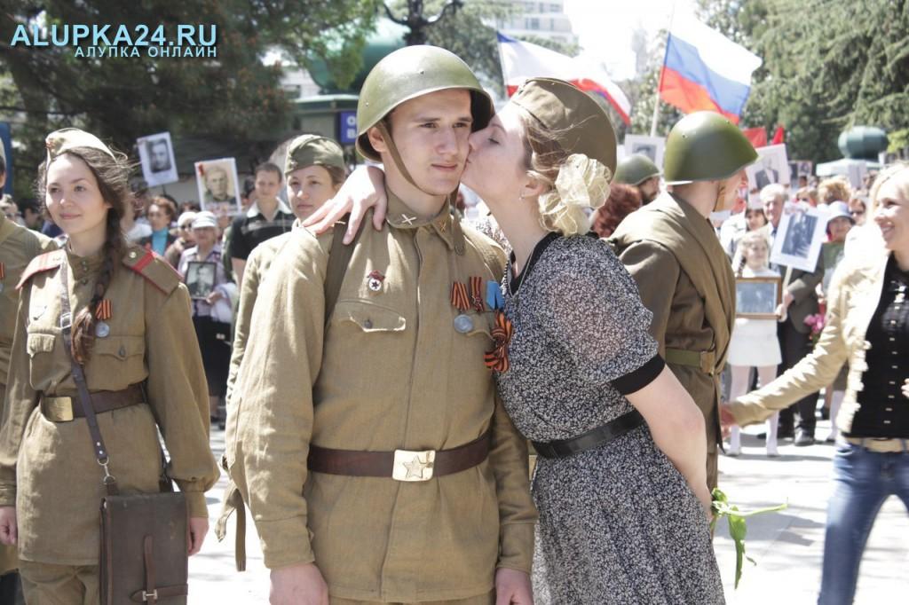 Парад Победы в Ялте собрал рекордное количество гостей и участников