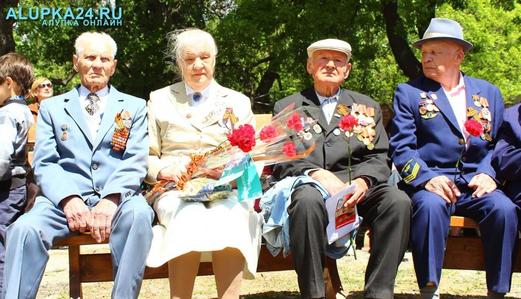 В Алупке отметили День Победы (фото)