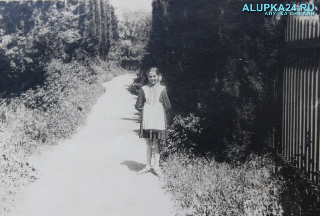 Людмила Солуянова в детстве