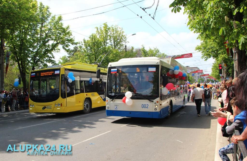 Колонна предприятия «Крымтроллейбус»