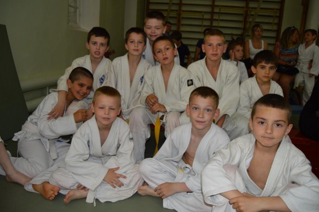 Участники соревнований по дзюдо