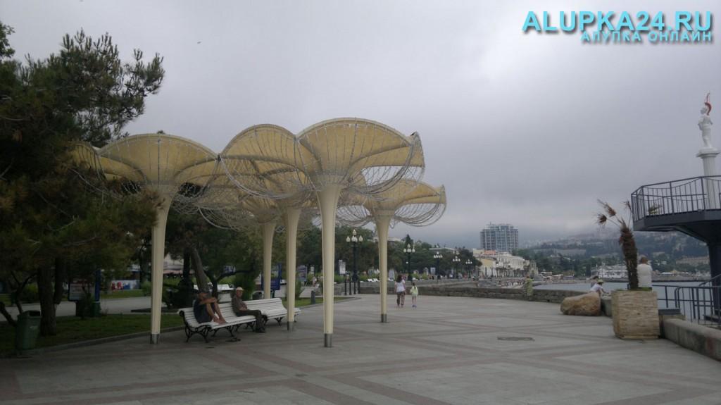 «Грибки-зонтики» в Ялте