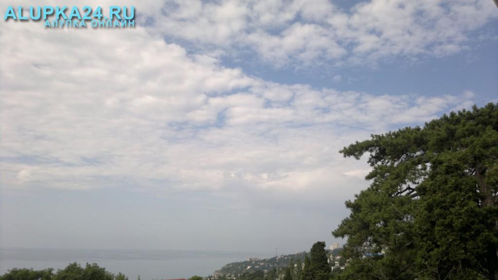 Погода в Алупке 18 июня