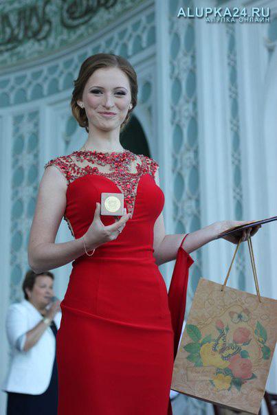 Золотая медалистка Марина Катасонова
