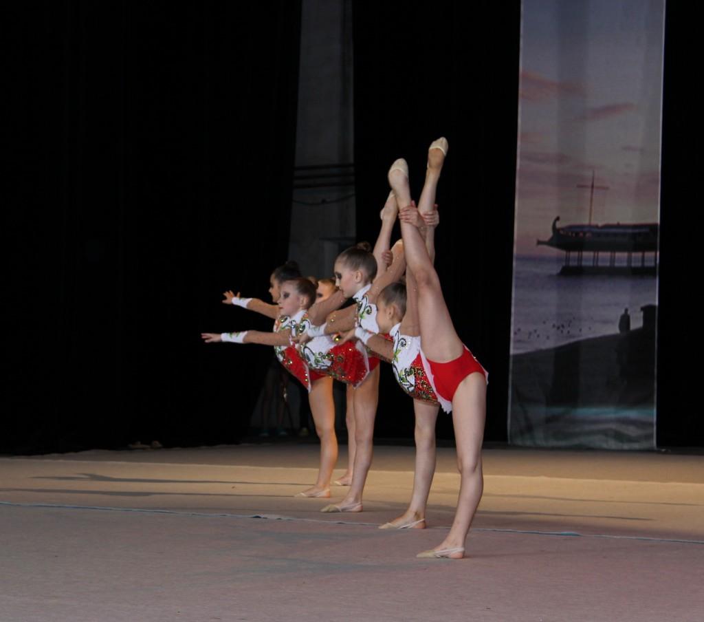 В Ялте состоялся международный 21-й турнир по художественной гимнастике «Свентана» 2
