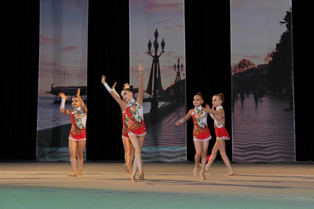 В Ялте состоялся международный 21-й турнир по художественной гимнастике «Свентана» 1