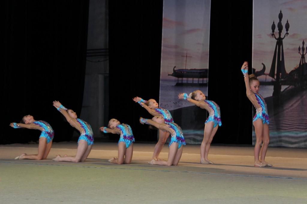 В Ялте состоялся международный 21-й турнир по художественной гимнастике «Свентана»