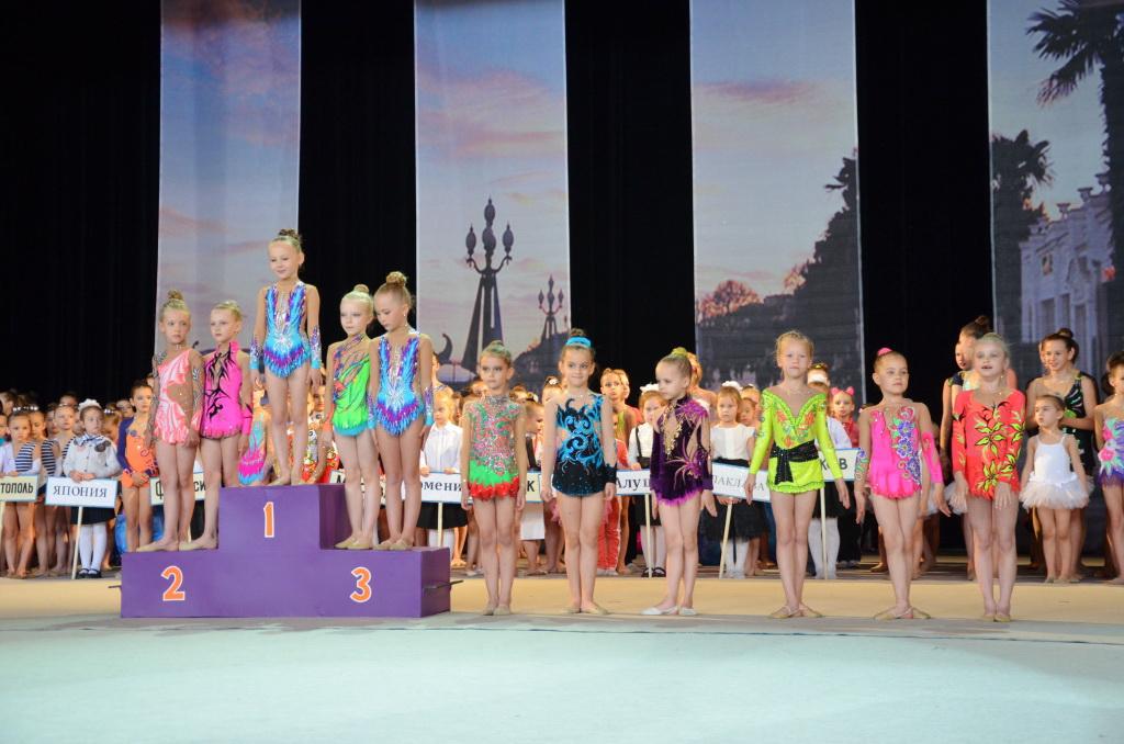 В Ялте состоялся международный 21-й турнир по художественной гимнастике «Свентана» 6