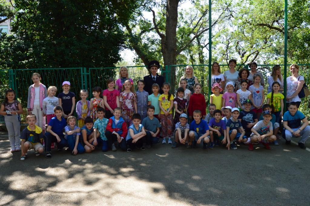 В Гаспринской начальной школе состоялась «Линейка мужества»