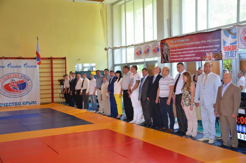 Почётные гости турнира по дзюдо