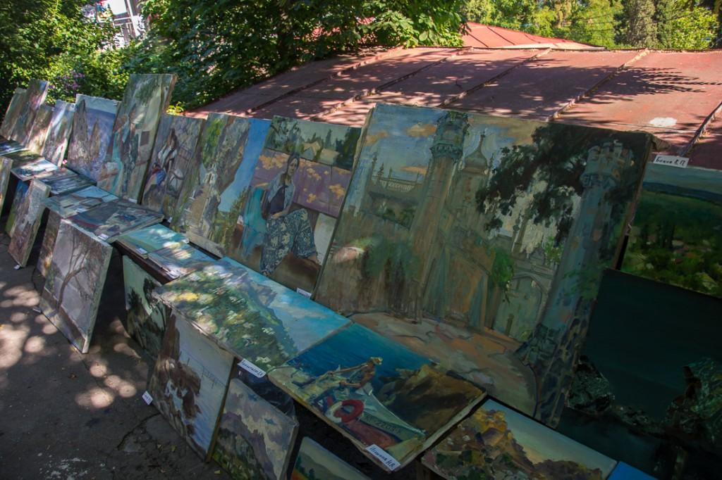 Выставка работ в доме Куинджи