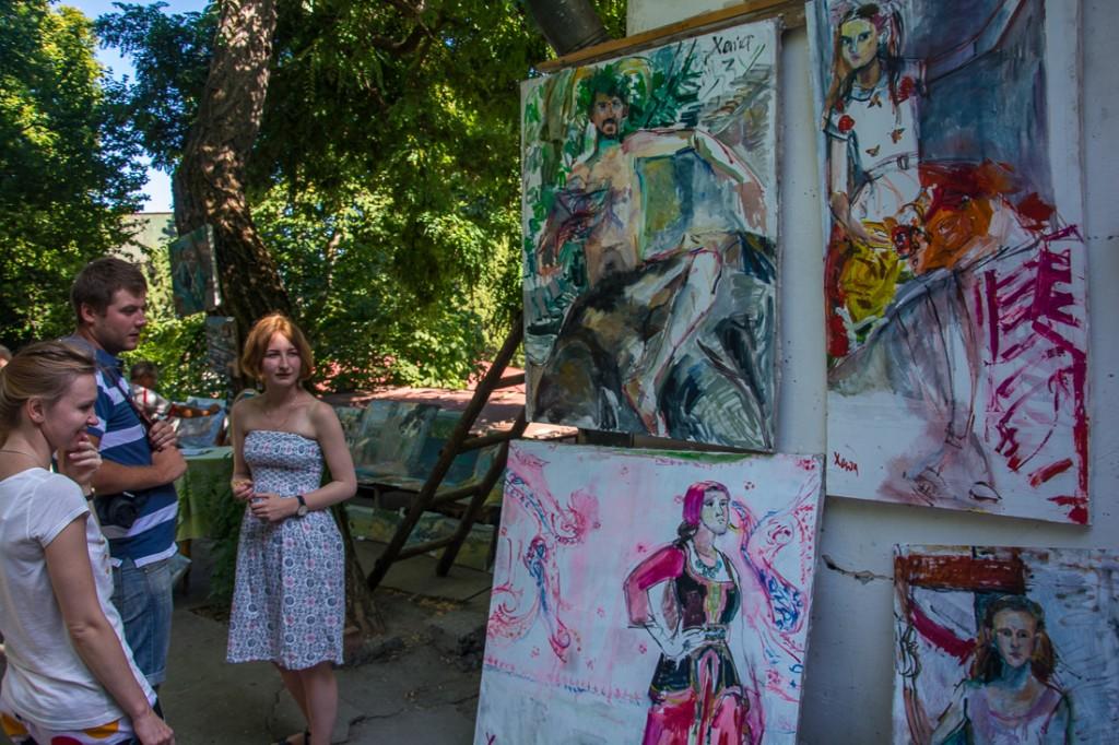 Выставка работ студентов Академии