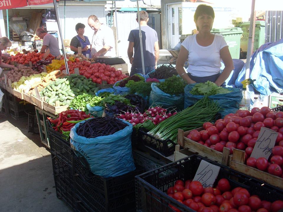 Цены на овощи в Ялте