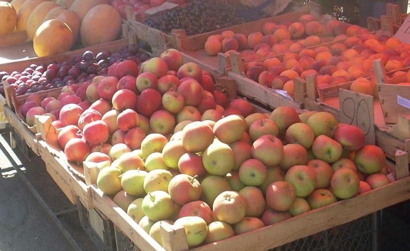 Цены в Алупке на продукты 23 июля 2015 года, цены на продукты