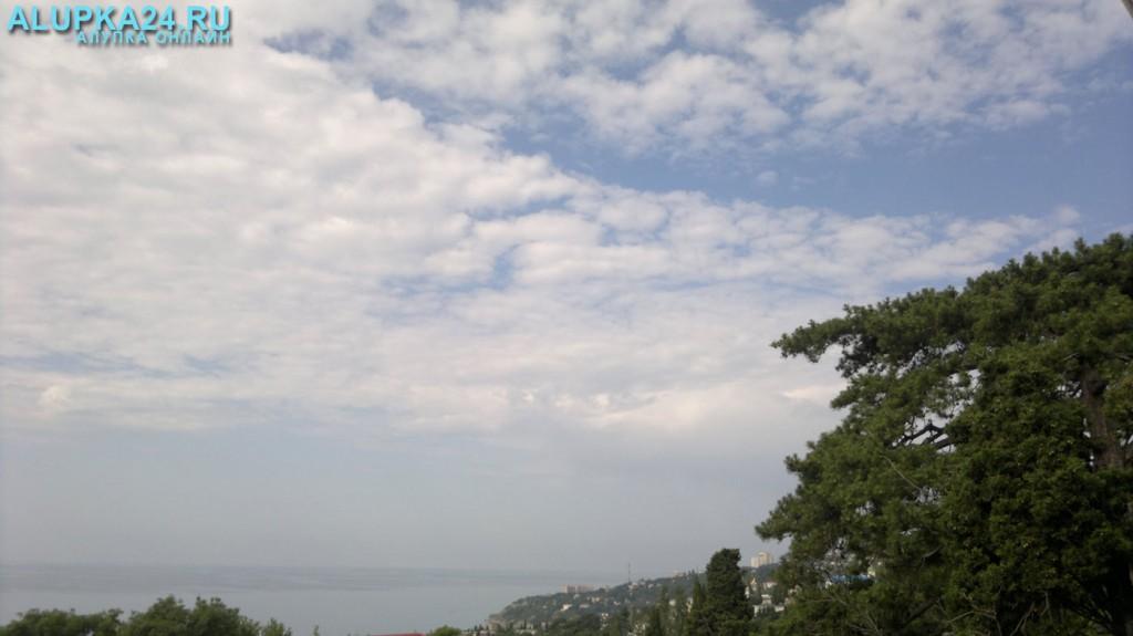 Погода в Алупке 14 июля