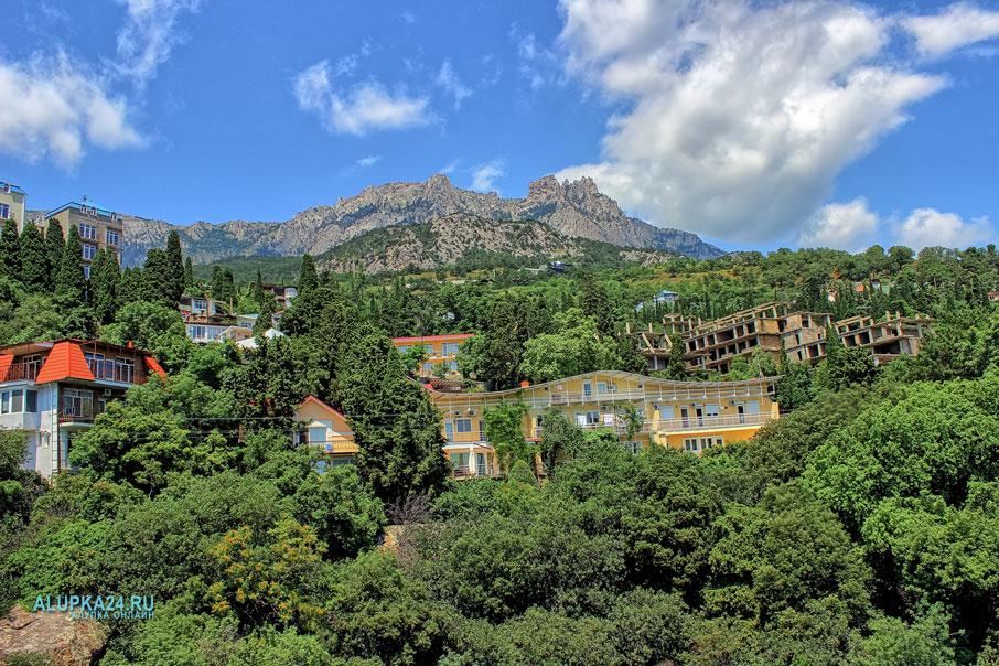 Вид на горы с хаоса