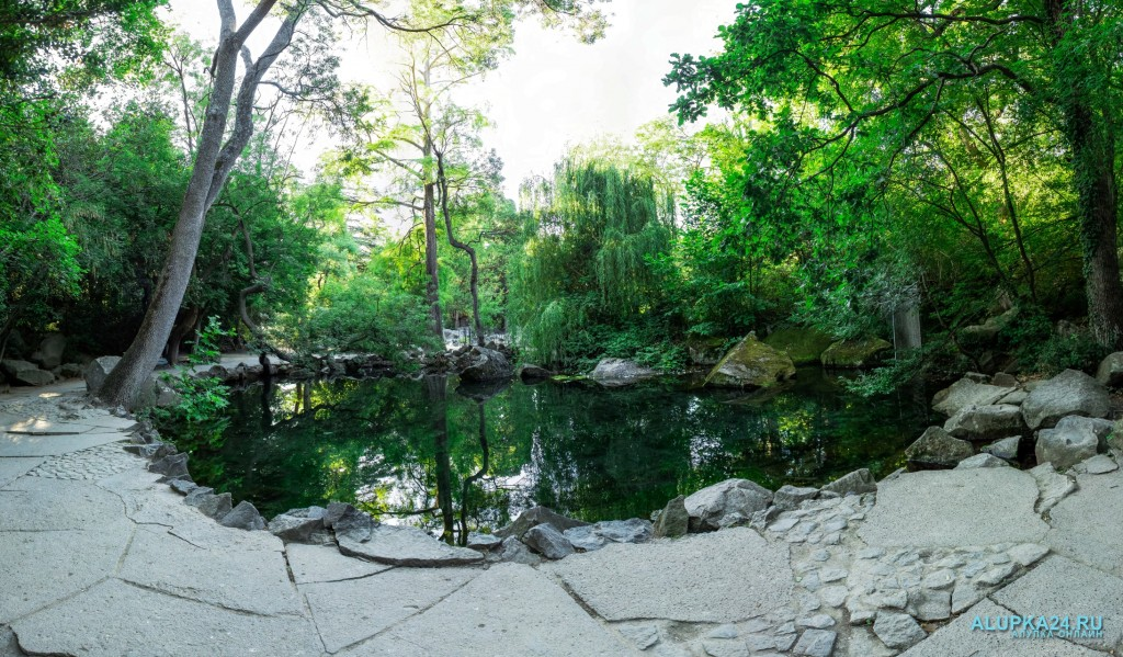 Панорама второго озера