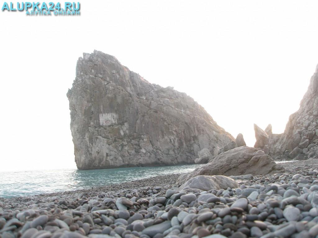В Симеизе насчитывается четыре общедоступных пляжа