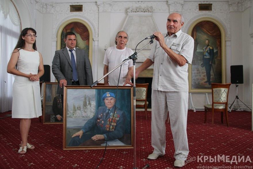 В Ливадии вручили именные портреты