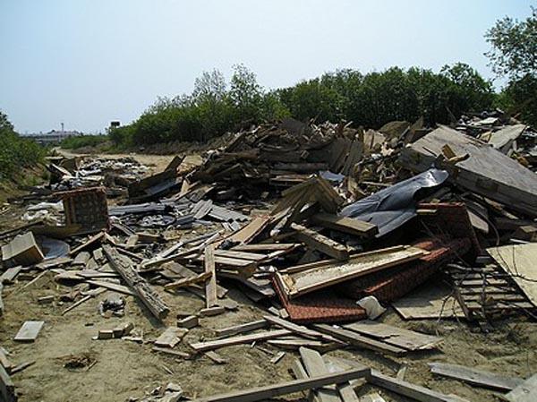 В Большой Ялте выбрали место для складирования строительного мусора