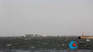 Керченская переправа 8 августа: действует штормовое предупреждение