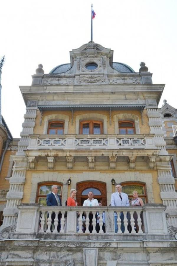 Князь Дмитрий Романов побывал в Массандровском дворце