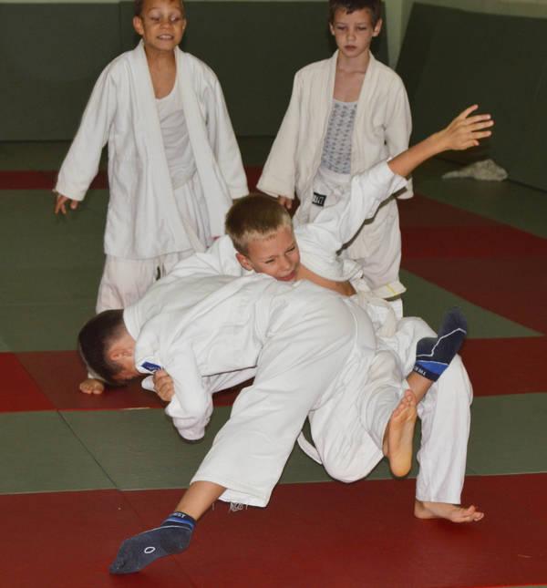 Соревнования по дзюдо (Спортклуб «Титан»)