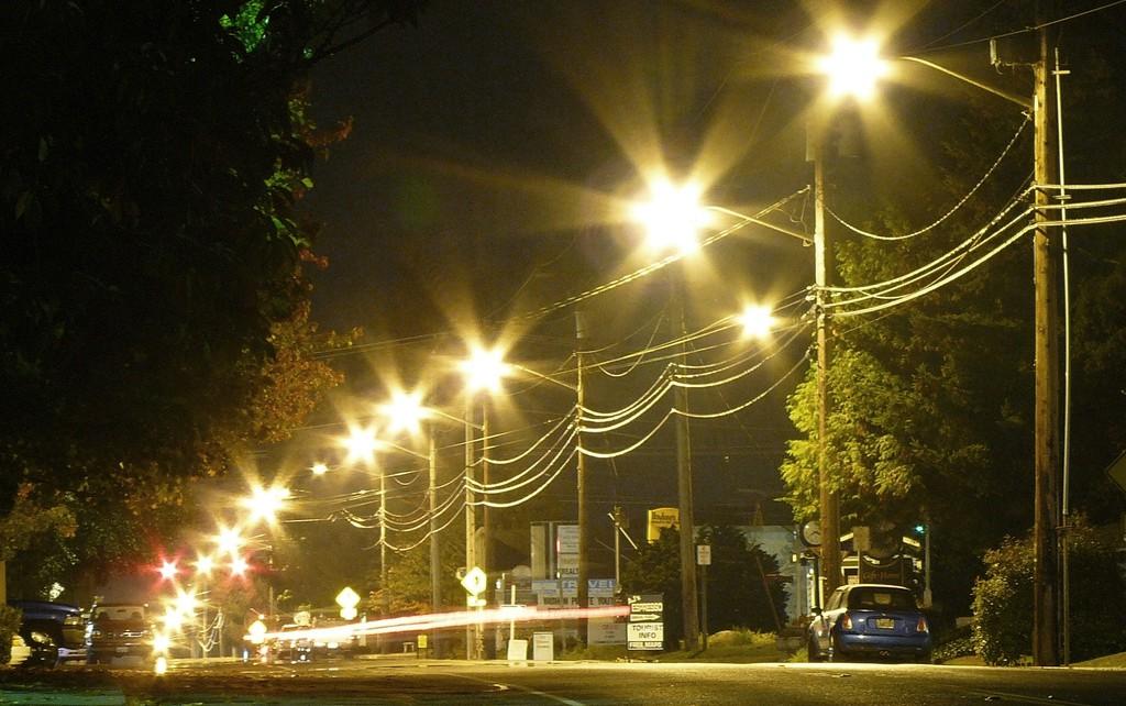 В Кацивели обновят систему наружного освещения