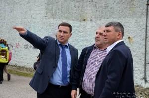 Андрей Ростенко осмотрел социальные объекты в Гурзуфе и Краснокаменке