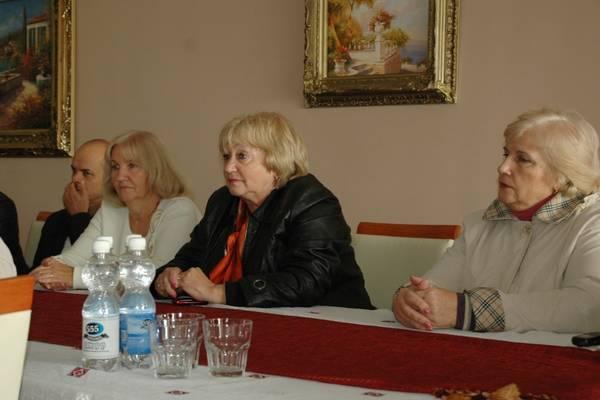Общественники Алупки на встрече с Андреем Ростенко