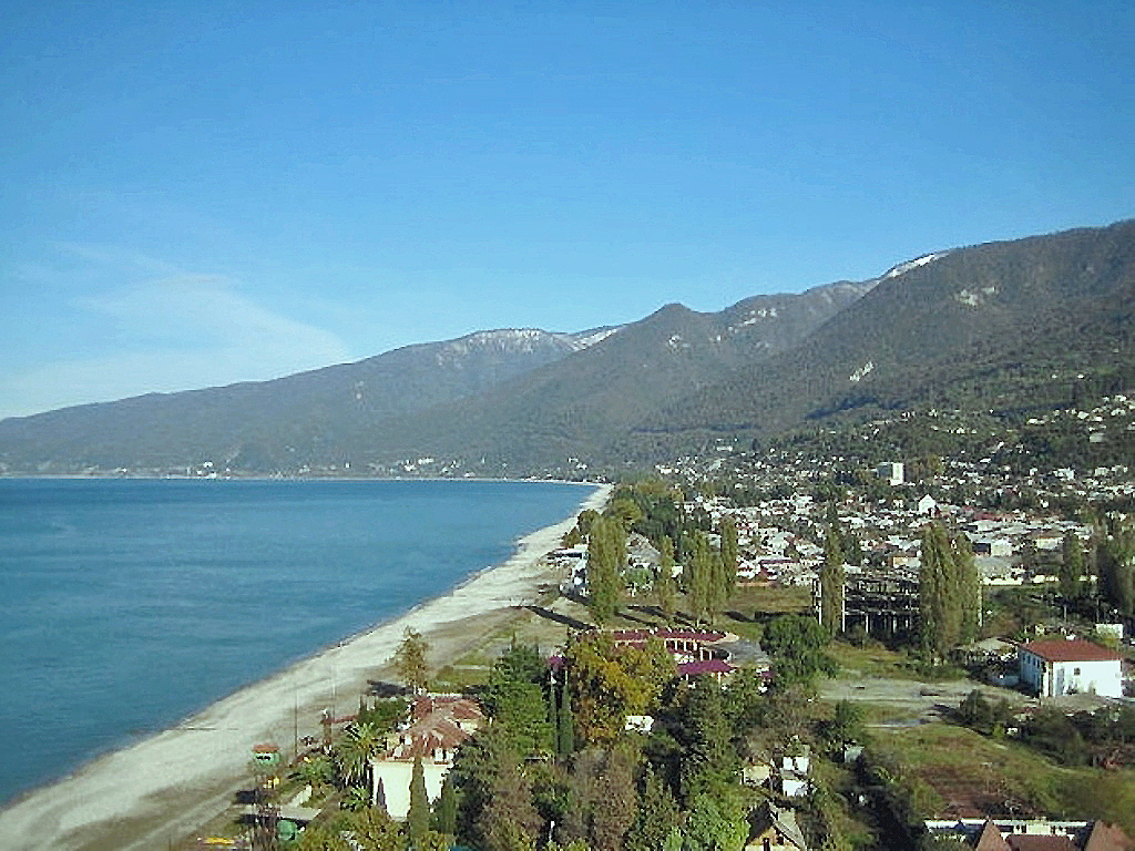 Абхазский курорт Гагры