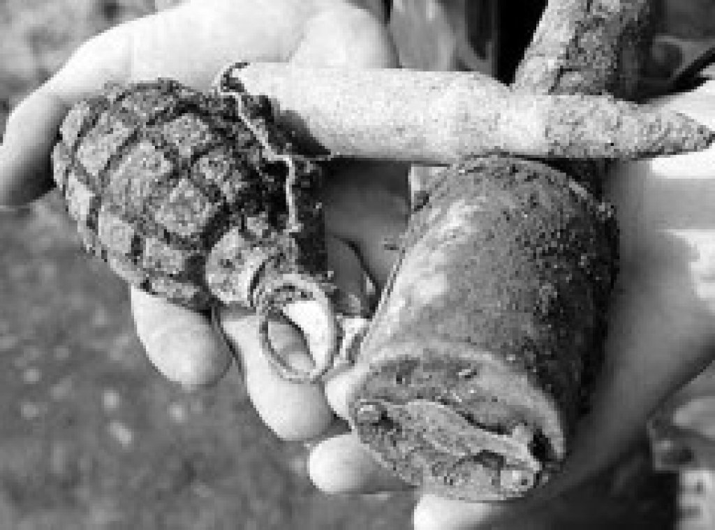 В Форосе обнаружили взрывоопасные предметы времён ВОВ