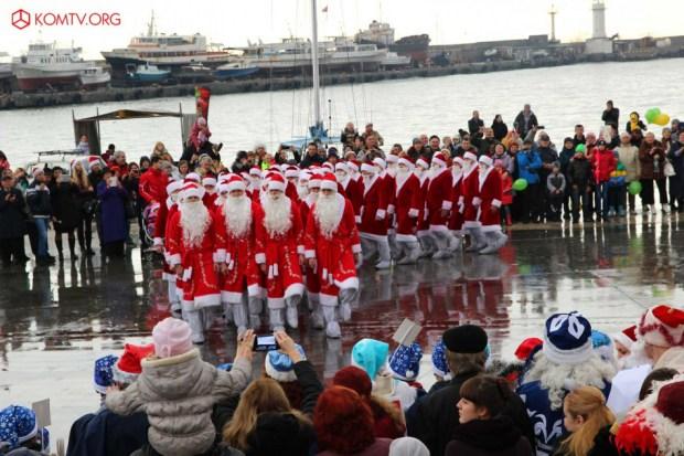 В Ялте проведут ежегодный уже Шестой Мороз-парад