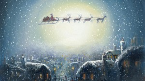 Снег на Новый Год