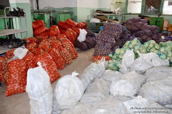 В Ялту поступило 24 тонны гуманитарной помощи