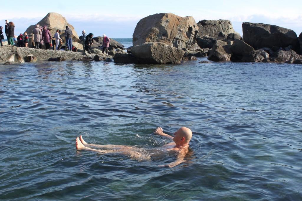 Праздник Крещения в Алупке 3