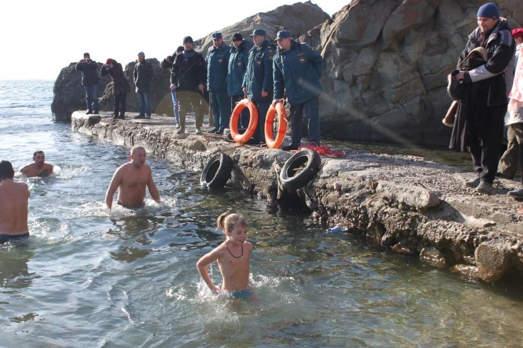 Праздник Крещения в Алупке 4
