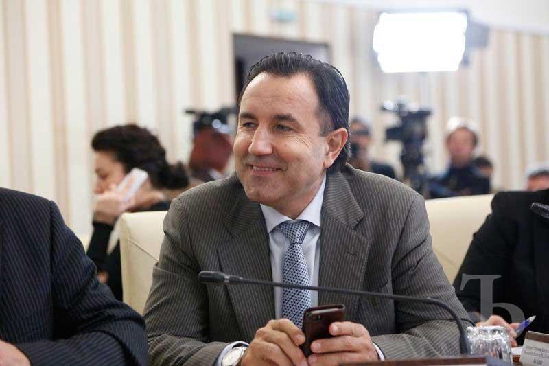 Экс-министр сельского хозяйства Крыма Виталий Полищук