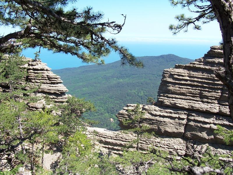 В горах Большой Ялты девушка сорвалась с 70-метровой скалы