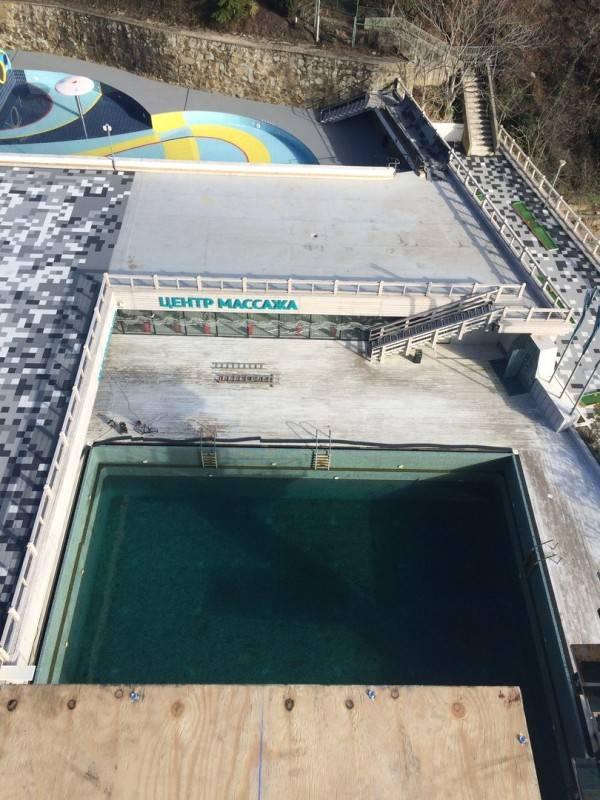 Бассейн, в который Артём Сильченко совершит прыжок