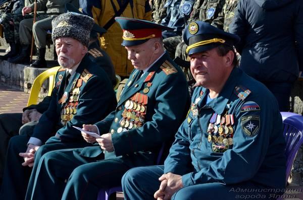 Гости праздника, посвящённого Дню защитника Отечества