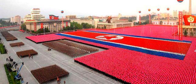 День защитника Отечества в Пхеньяне