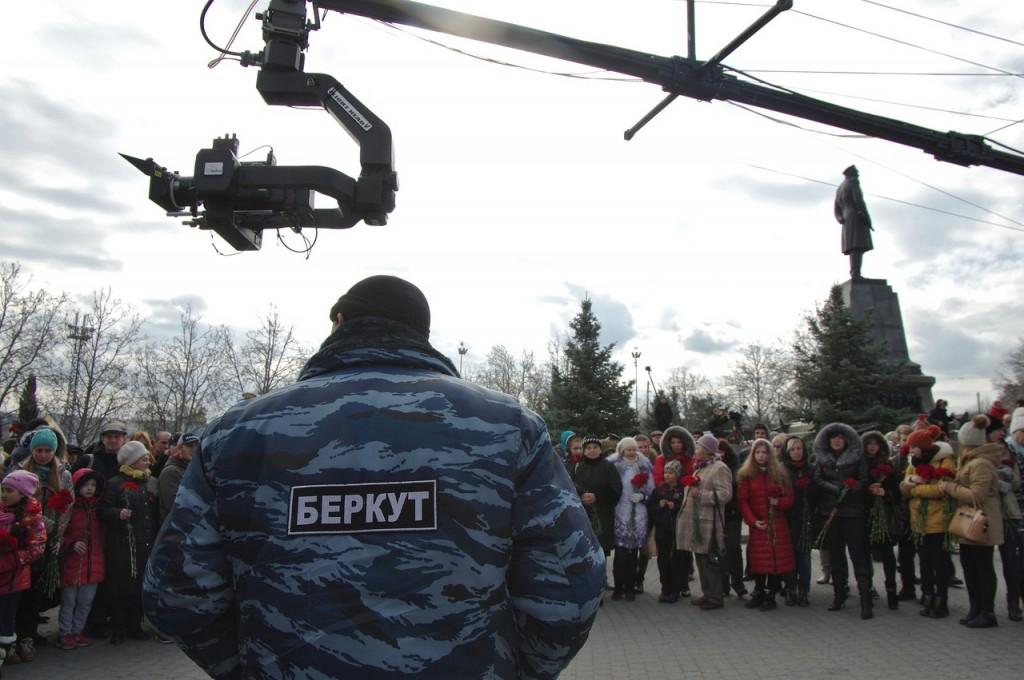 Съёмки фильма «Крым»