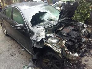 Поджоги автомобилей в Ялте требуют признать терактом